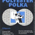 De Polyester Polka affiche