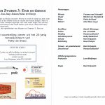 Mussen en Zwanen 3 programma